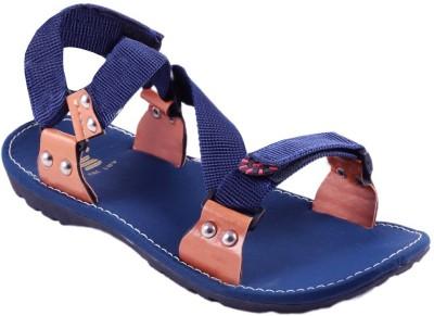 Stylos Men Blue Sandals