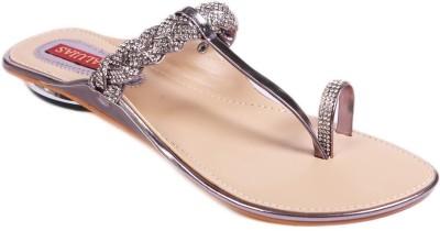 Balujas Women Grey Flats