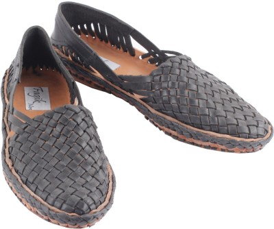 Fagik Men Black Sandals
