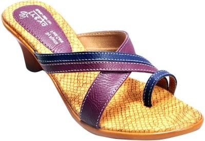 Ajanta Purple Women Purple Heels