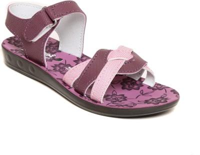 Lancer Girls Purple Flats