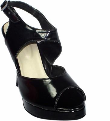 Maayas Women Black Heels