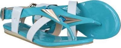 Pinellii Women Blue Flats