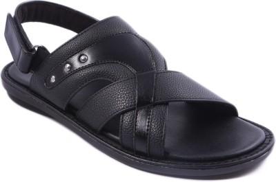 Balujas Men Black Sandals