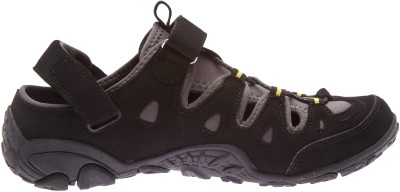 Wildcraft Terrafin Cross Men Black Sandals