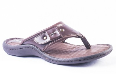 Tanny Shoes Tanny Shoes Classy Brown Leather Sandal Men Brown Sandals