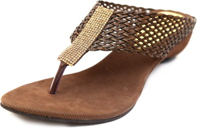 Unmatched Identity Women Brown Flats