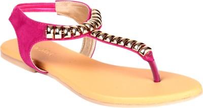Soft & Sleek Pink Girls Pink Flats