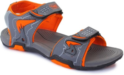 TOUCHWOOD Men Grey, Orange Sandals