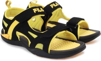 Fila ENERGY Men Black, Yellow Sandals