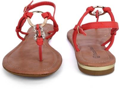 Raffinee Girls Red Flats