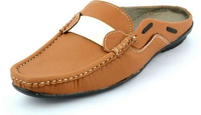 Factory Footcare Men Tan Sandals