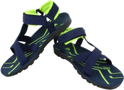 Super Matteress Green-822 Men Blue Sandals