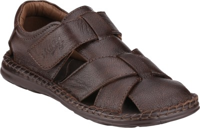 Menz WP-07 Men Brown Sandals