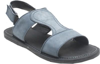 Jack Don Men Grey Sandals