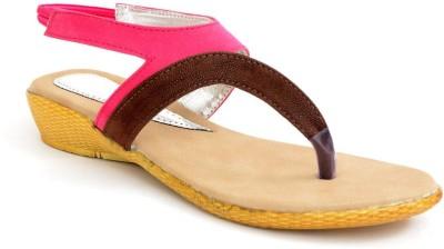 Lee Walk Women Pink Flats