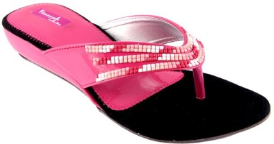 Vinayak Collection Women Pink Wedges