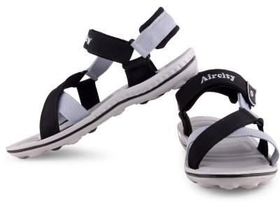 Aircity Men Blue, Grey Sandals