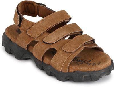 Afrojack Men Tan Sandals