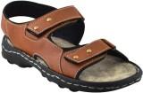 Elvace Men 406,Tan Sandals