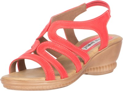 KEVIN SPADE Women Red Wedges