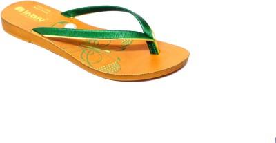 Inblu Women Green Flats