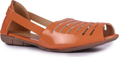 DJH Girls Orange Sandals