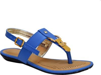 Apick Women Blue Flats