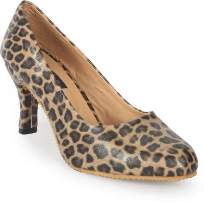 Funku Fashion Women Brown, Brown Heels