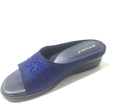 SWAGGA Women Blue Wedges