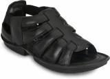 Menfolks Men Black Sandals
