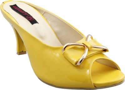 Legona Women Yellow Heels