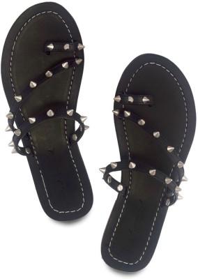 Modsquad Women Black Flats