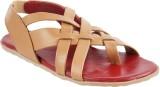 Metro Men 89,Beige-Red Sandals