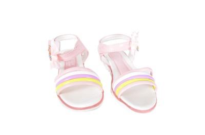 Junior Selection Girls Pink, Blue Sports Sandals