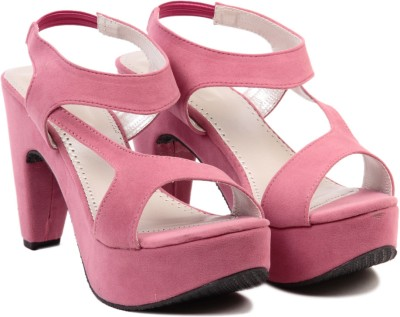 Ten Fabulous Pink Women Pink Heels