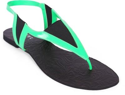 Zotti Women Green Flats