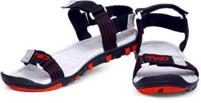 TOUCHWOOD Men Black, Red Sandals