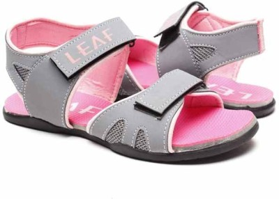Blue-Tuff 16 Leaf Women Pink Sports Sandals