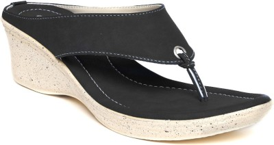Dressberry Women Black Wedges