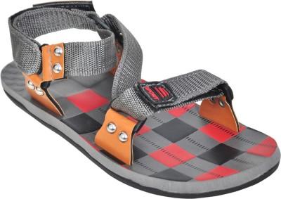Domestiq Men Grey Sandals