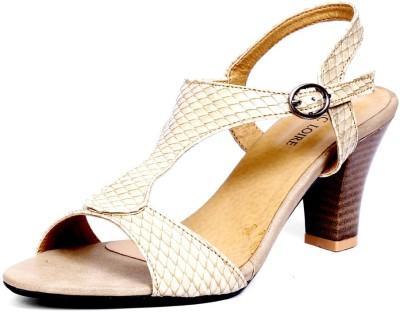 Marc Loire Women Beige Heels