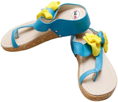 Gadget Women Blue, Yellow Flats