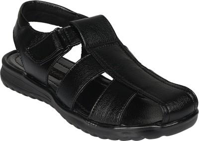 Vittaly Men Black Sandals