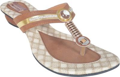 Bhoomi Women Brown Flats