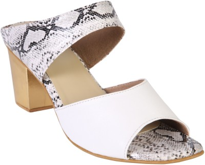 Zaera Women White Heels