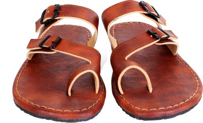 Anav Men Tan Sandals