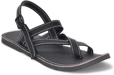 Forever Footwear Men Black Sandals