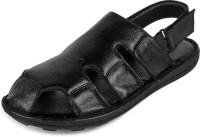 Shooz Men Black Flats