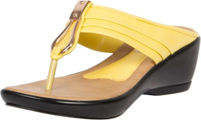 KEVIN SPADE Women Yellow Wedges